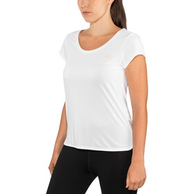 The North Face Inlux Jersey korte mouwen met doorlopende rits Dames, tnf white